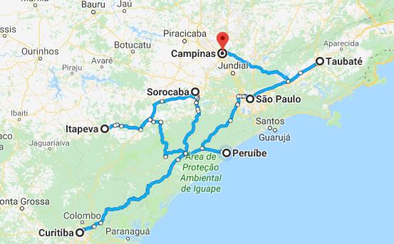 Como chegar a Peruíbe